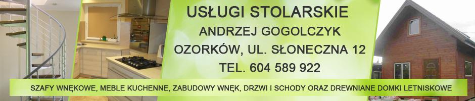 Gogolczyk - usługi stolarskie